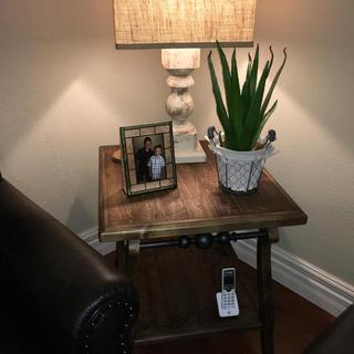 Dazzleton end table