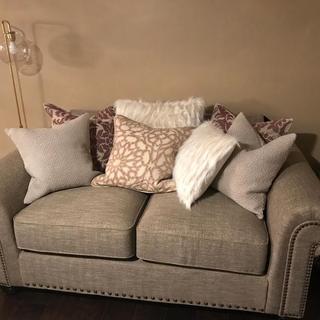 Different pillows.