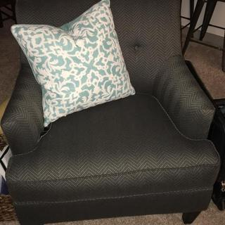 Aqua Accent Pillow to make it a bit more girly!