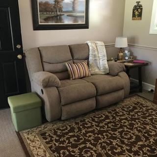 My new sofa for my 'she-corner'.... Love it !