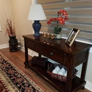 My new console table