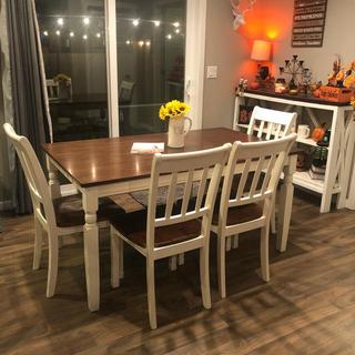 New dining room table set
