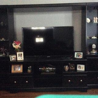My new entertainment center ❤️