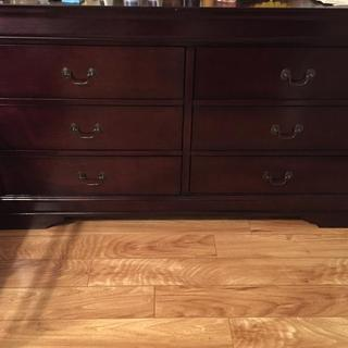 My son new dresser without mirror.
