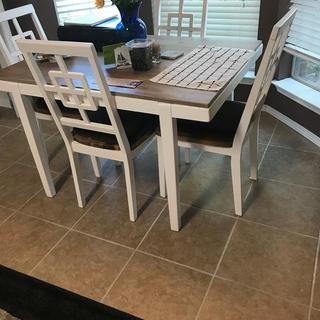 Love our table and chairs