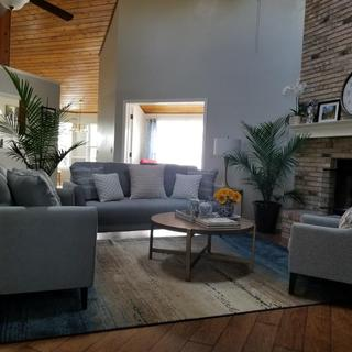 My Ashley living room set
