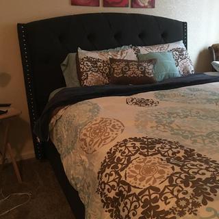 New comfy bed