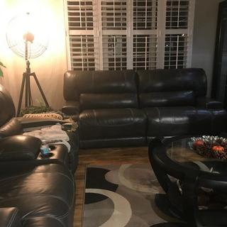 Our New Sofa and Love Seat w/Poweted Recliners