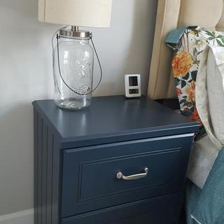 Our new guest room nightstand