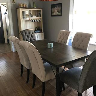 New dining set!