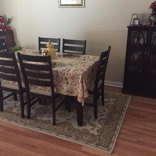 My New Dining Room Rug
