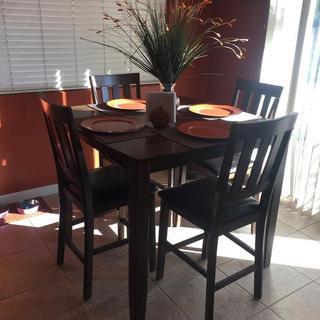 My new dining set