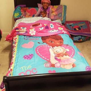 Shaniah's New Bed