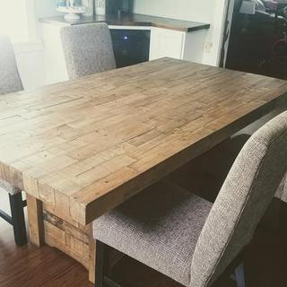New set for a new dining room!