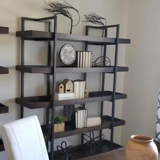 My new Study! Thank you Ashley Furniture.