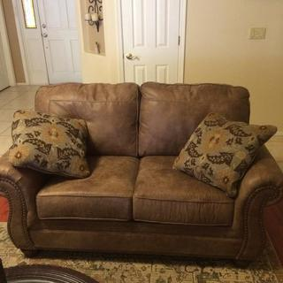 Our new loveseat