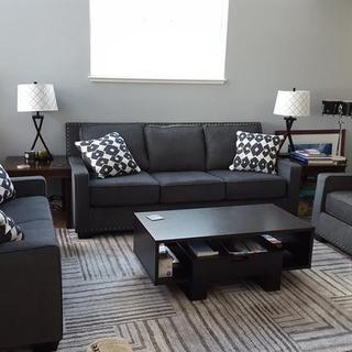 Brace Sofa, Loveseat & Chair