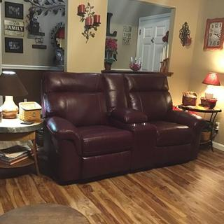 Pleasing Duvic Power Reclining Loveseat With Console Ashley Spiritservingveterans Wood Chair Design Ideas Spiritservingveteransorg