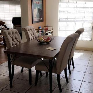 Dining table and chairs!