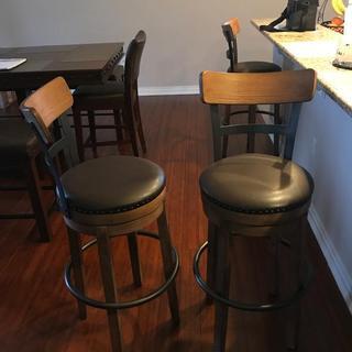 Swivel stools