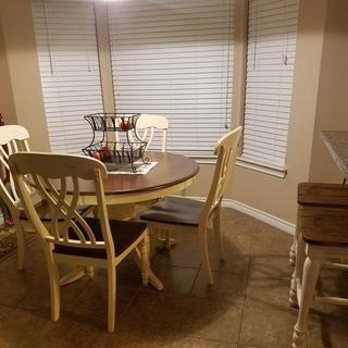 My New Dinette and Bar Stool Set