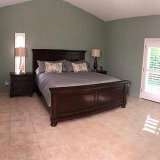 Our new master bedroom