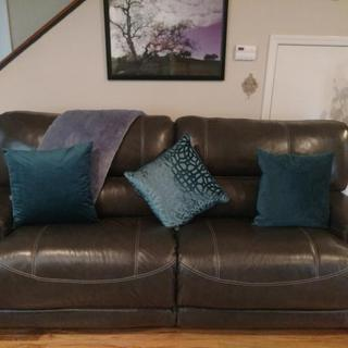 My new sofa! :)
