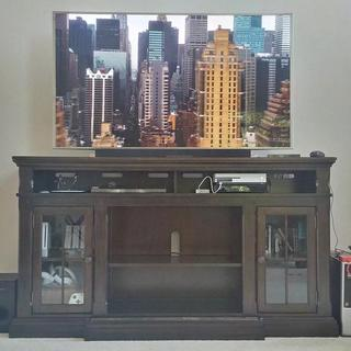 Our new entertainment center