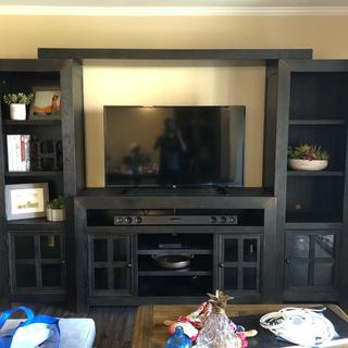 Love my new entertainment center