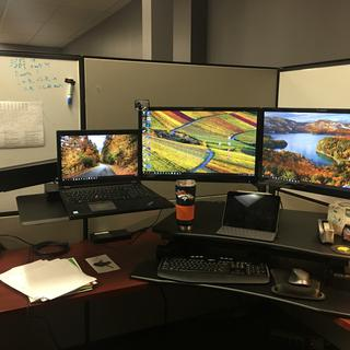 I need another monitor.  lol