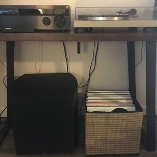 Humble Record Player Setup