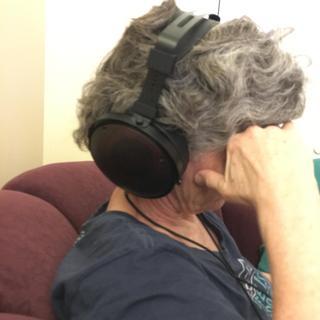 It's a big headset