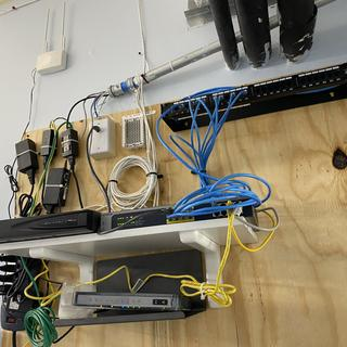 New Patch panel top right.