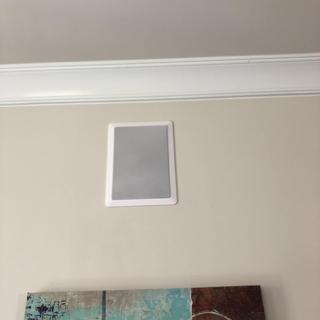 In wall speaker