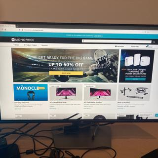 Great monitor! It worked out of the box on Ubuntu 18. I like the low profile bevel on it too