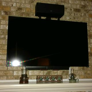 Tv in up position