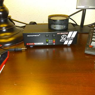 Monoprice 2x1 Enhanced Powered DVI Switch