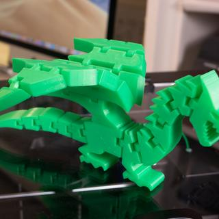 Sample Flexible Dragon from Thingiverse