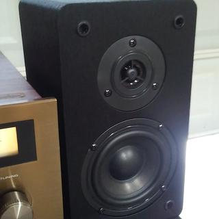 Sound great, playing thru 1979 Panasonic RA-6100, 15 WPC they are wonderful, great bass for size.