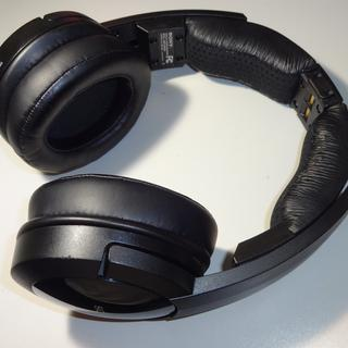 Sony MDR-RF985R wireless headphones with new set of Monoprice Memory Foam Protein Leather Earpads.