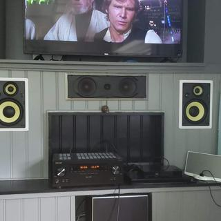 My humble surround 7.1 system