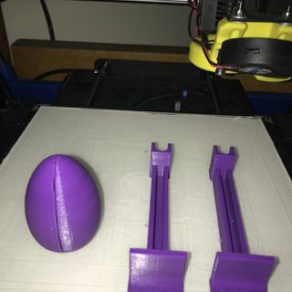 Mini egg and height adjusters in MP PLA +.