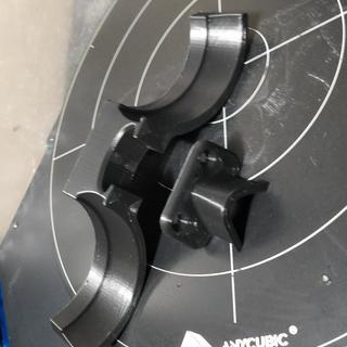 Oculus cv1 controller holder and headset hook