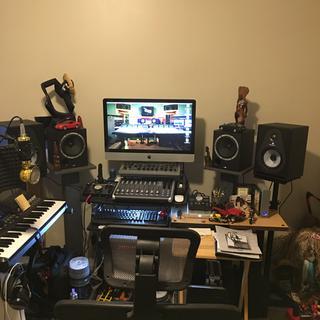 Shown in  my studio
