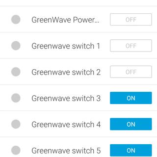 View in Smart Things app