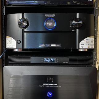 Marantz 8805 Panasonic 820 Blu-ray AC Infiniti air cooler Monolith 11x