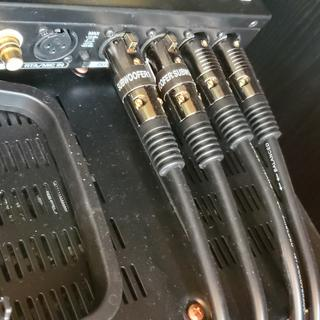 Interconnect with Behringer (subwoofer EQ for Marantz pre-amp)