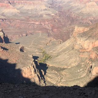 Bright Angel trail in Grand Canyon NP
