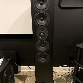 speaker without grill