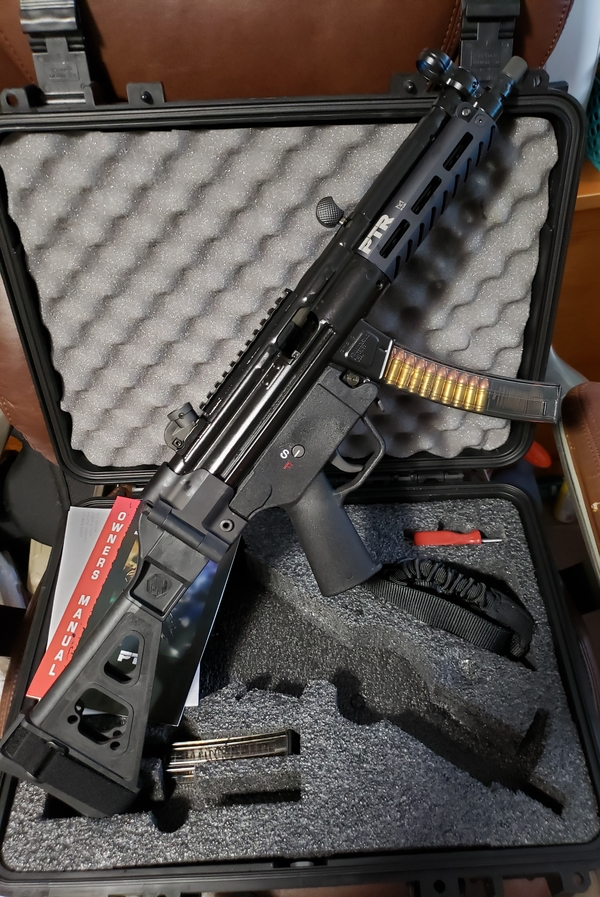 Ptr 9ct 9x19mm Roller Delayed Pistol 601 Pdw 100001